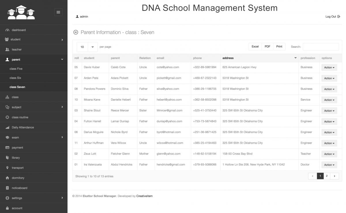 School Management Software   DNA Creative Group